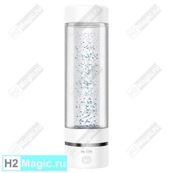 Генератор водородной воды H2Life HL-A1 ПолиКарбонат пластик 330 мл Белый