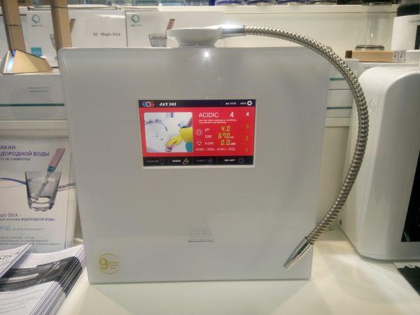 Ионизатор воды EOS Hitech NEC 901 Стационарный проточный, живая вода, кремниевая вода