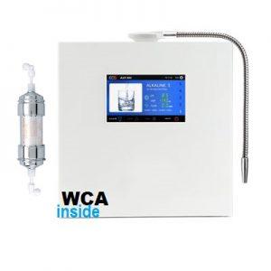 Портативный генератор водорода HlB ON H05+ (2в1 - с функцией дыхания и водородной воды, стеклянная колба, металлическая крышка) не Фролова