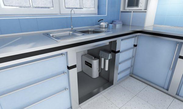 Подстольный генератор водородной воды AquaDOC UnderSink (+WCA активатор, монтаж под стол/раковину)