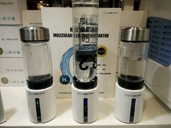Генератор водородной воды AquaDoc (mini колба 350мл стекло)