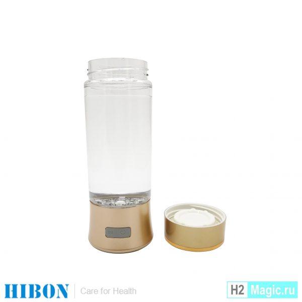 Ионизатор водородной воды Hibon HB-H03 с мембраной без PEM/SPE (Пластик 250 мл)