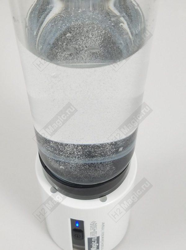 ПРЕДЗаказ на Март-Апрель на Генератор/Ингалятор водорода H2Magic H05+LE Стекло 450 мл, ПЭТ 24-28, Звук