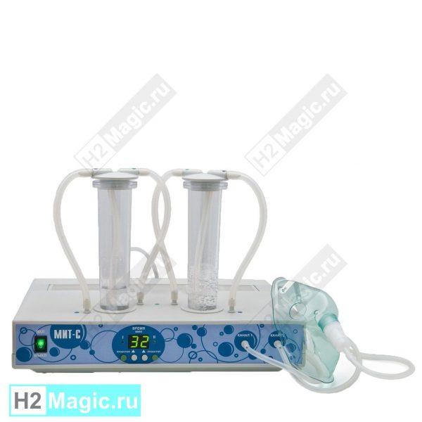 Ингалятор синглетно-кислородный MIT 1O2-2S два выхода