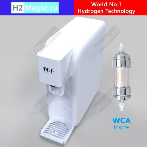 Генератор/Активатор водородной воды EGTech EGU-700 PRO + WCA PREMIUM HYDROGEN WATER GENERATOR