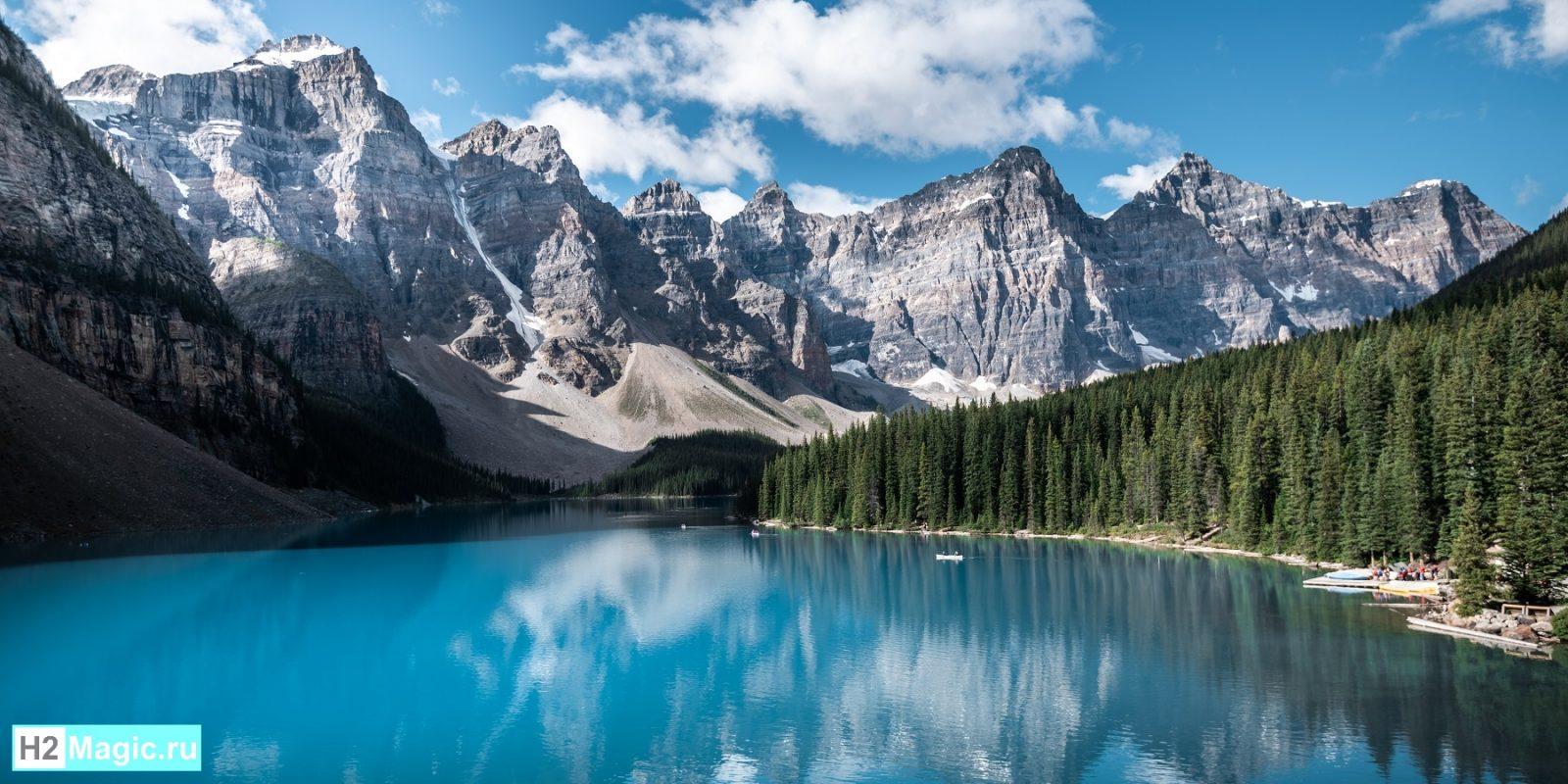 Водородная вода в природе
