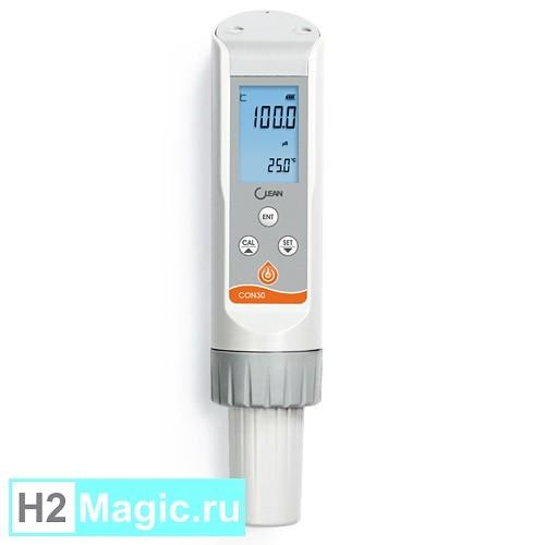 TDS-метр Clean CON 30 (Мобильный лабораторный тестер Conductivity / TDS / Salinity воды)