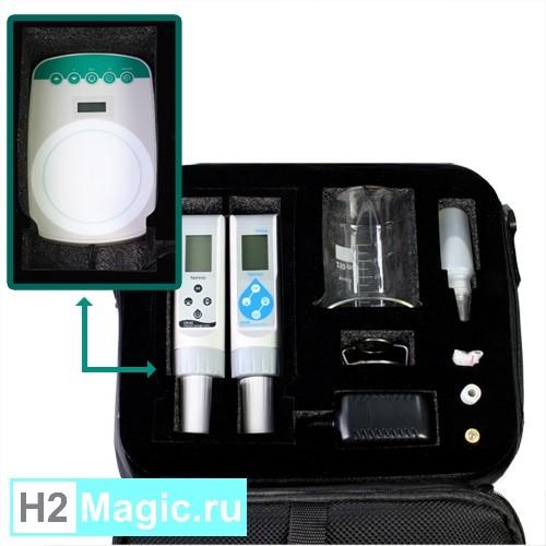 H2-метр мембранный Clean DH 30 Professional (Мобильный Профессиональный лабораторный набор для Н2)