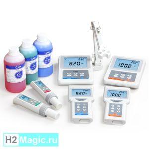 Профессиональное Измерительное оборудование (H2 / pH / ORP / TDS - meter)
