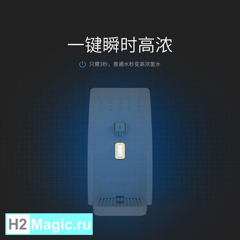Генератор высококонцентрированной водородной воды H2Magic FHWG-2500HD + WCA-структуратор
