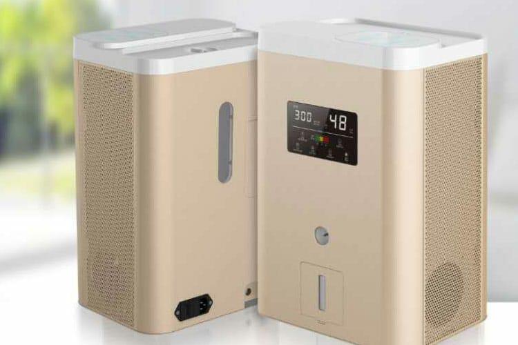 Ингалятор Водорода H2Magic Hi-600 Gold, H2 600ml/min, LCD, увлажнитель