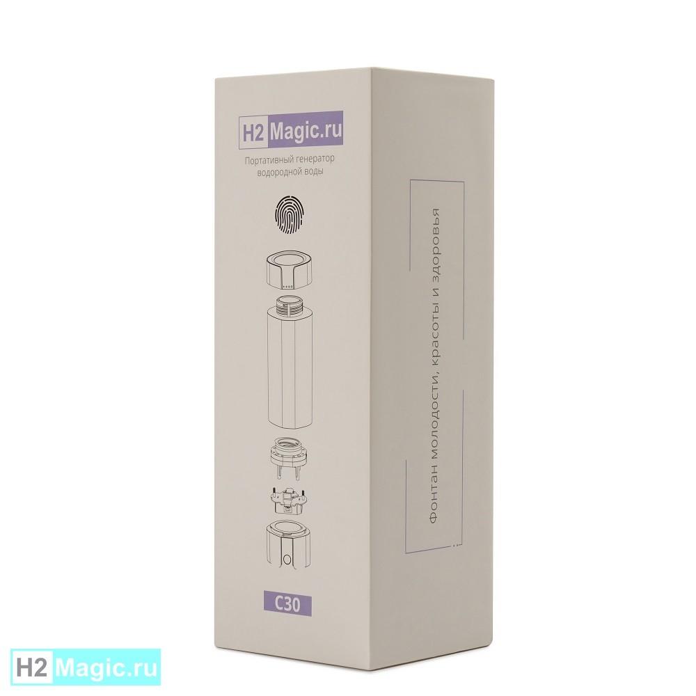 Мобильный Генератор/Ингалятор водорода H2Magic C30 Snow White, 230 мл, 5в1 (Белый)