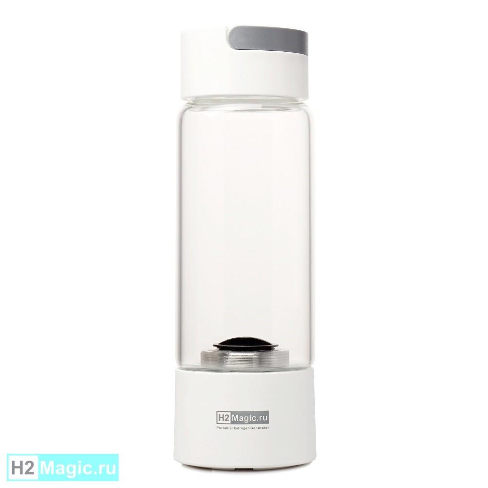 Генератор водородной воды H2Magic Q10 Lite Белый 450мл Стекло