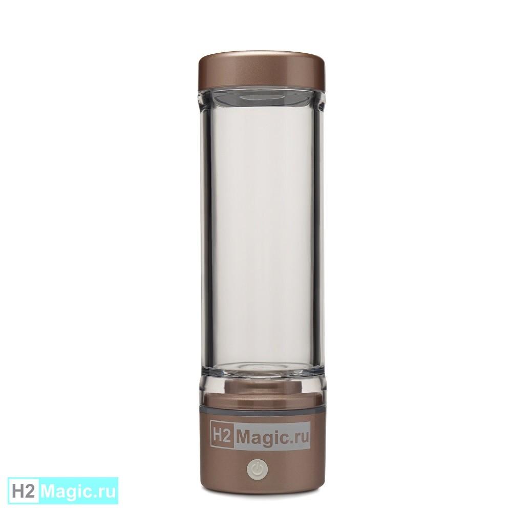 Генератор/Ингалятор водорода H2Magic M30 Premium Gold (Золотистый, ДД, ip67, 280мл, МФУ 7в1)
