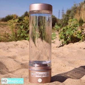 ПРЕДзаказ на Лето на Генератор/Ингалятор водорода на МФУ 7в1 H2Magic M30 Premium Pink Beach (280мл, +спрей +маски-салфетки, ПЭТ 24-28мм)