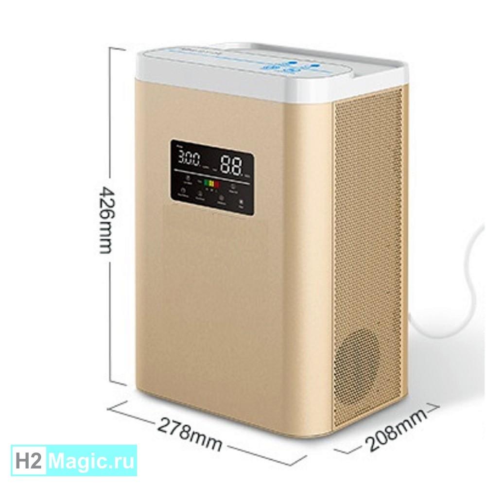 ПРЕДзаказ на Генератор/Ингалятор Водорода H2Magic Hi-600 Gold +NanoRod, (H2 600ml/min, LED, увлажнитель)