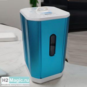 ПРЕДзаказ на Ноябрь на Генератор/Ингалятор Водорода/Кислорода H2Magic Hi-225 Blue (Голубой, H2 150 +O2 75 ml/min), Usb-C