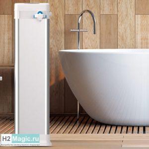 Генератор/смеситель водорода H2Magic Milky SPA 8-Core nano (8/600) для ванны/душа без электролиза и насоса